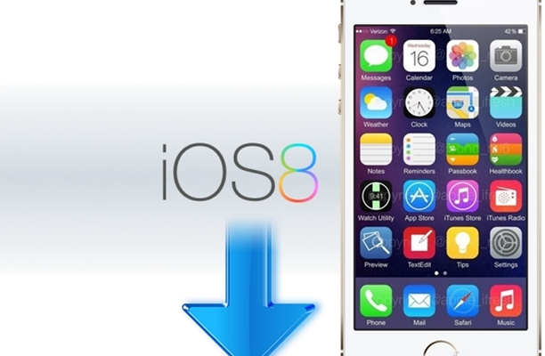İOS 8'e Güncelle: iOS 8'i iPhone 5S, 5C, 4S, iPad, iPod Touch'a yükleyin