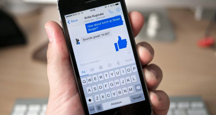 Com esborrar fotos compartides, contingut a Facebook Messenger a Android, iPhone
