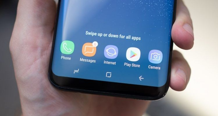 Fix Disappearing Home Button im Samsung Galaxy S8, S8 Plus