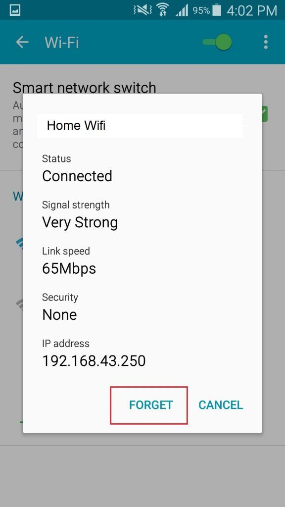 wifi not working s6 2